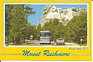Mt Rushmore National Memorial Black Hill Sd Cs11690