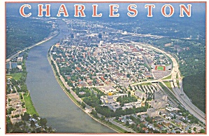 Charleston Wv Aerial View Cs11695