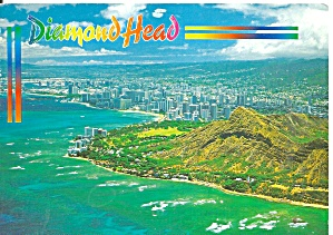 Diamond Head Hi Aerial View Cs11701