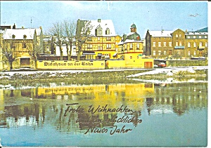 Christmas Postcard Lahnstein Germany Cs11708