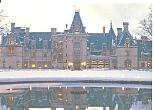 Asheville Nc Biltmore Estate At Christmas Cs11709