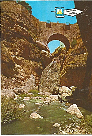 Ronda Spain The Arabs Bridge Cs11735