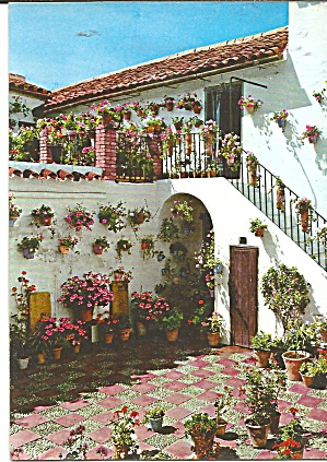 Marabella Spain Typical Patio cs11751 (Image1)