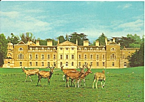 Woburn England West Front Woburn Abbey Cs11774