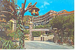 Hostel Monte Picavo,Puzol, Spain Postcard (Image1)