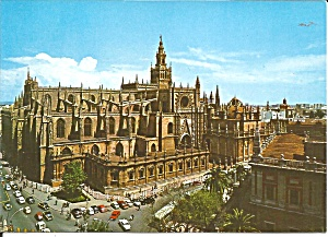 Sevilla Spain Cathedral Y Giralda Cs11784