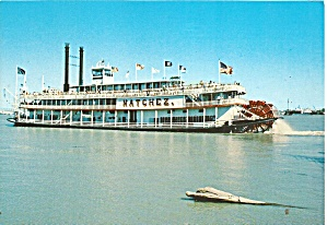 Riverboat Natchez At New Orleans Cs11793