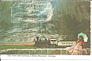 Stone Mountain GA Train and Carving cs11804   (Image1)