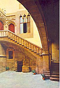 Patio Interior Valencia Spain Postcard cs1182 (Image1)