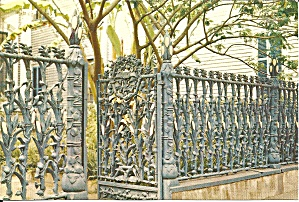 815 Royal Street New Orleans Cornstalk Fence Cs11831