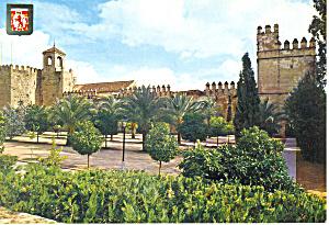 Alcazar, Cordoba, Spain Postcard (Image1)