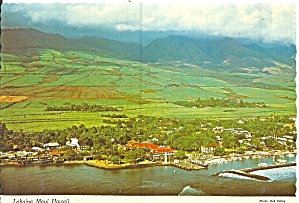 Maui Hawaii Lahaina Aerial View cs11850 (Image1)