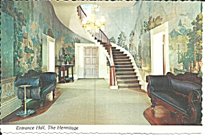 The Hermitage Entrance Hall Andrew Jackson Home Cs11865
