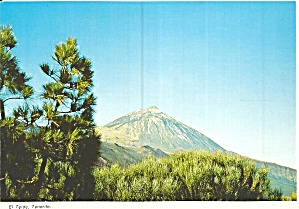 Tenerife Canary Islands El Teide Cs11874
