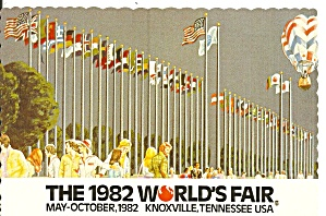 1982 World S Fair Knoxville Court Of Flags Cs11884