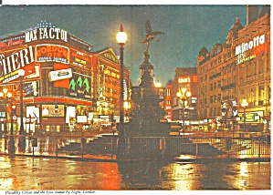 London Piccadilly Circus At Night Cs11886
