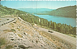 Donner Lake California Postcard Cs11892