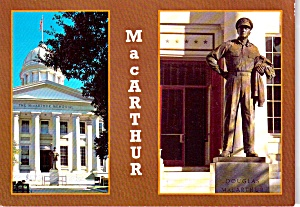General Douglas Macarthur Memorial Norfolk Va Cs11909