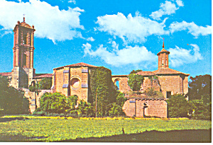 Older Church Monasterio de Piedra Spain Postcard cs1190 (Image1)