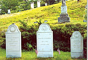 Grave Of Calvin Coolidge Plymouth Notch Cemetery Vt Cs11914