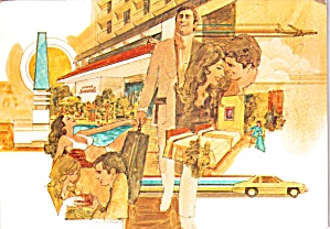 Howard Johnson s Motor Lodges Postcard cs11923 (Image1)