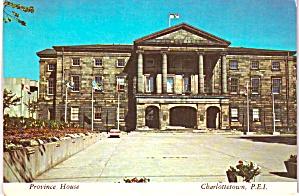 Charlottetown Canada PEI Province House cs11930 (Image1)