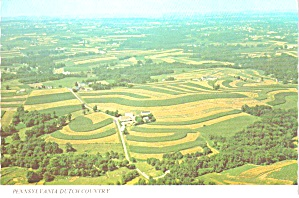 Dutch Country Pennsylvania Aerial View of Farm cs11968 (Image1)