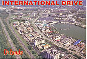 Orlando FL International Drive Postcard cs1198 1997 (Image1)