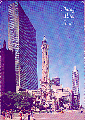 Chicago Il Water Tower