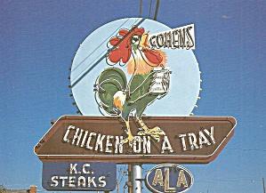 Junction City Kansas Cohen s Chicken House Sign  cs12012 (Image1)