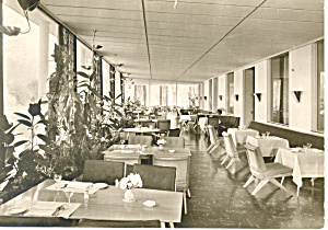 Hilberts Park Hotel Bad Nauheim Germany Postcard cs1211 (Image1)