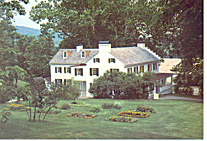 Hopewell Furnace Ironmasters Mansion Pa Postcard Cs1243