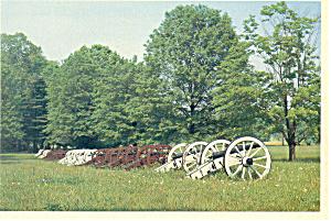 Valley Forge PA Artillery Park Postcard cs1246 (Image1)