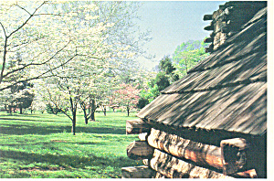 Valley Forge,PA Maxwell Brigade Huts Postcard (Image1)