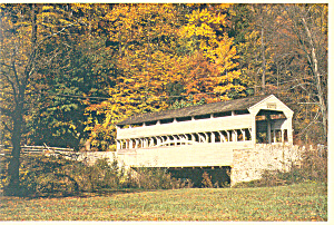 Valley Forge,PA Knox Bridge Postcard (Image1)