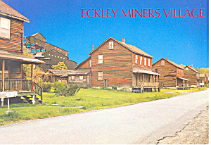 Eckley Miners Village, PA Postcard (Image1)