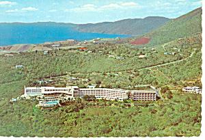 Virgin Isle Hilton Hotel Postcard cs1258 (Image1)