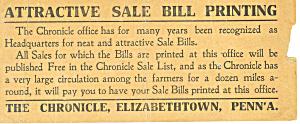 Sales Bill Printer Adverisment (Image1)
