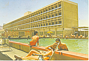Queen of Sheba Hotel Eliat  Israel Postcard cs1316 (Image1)