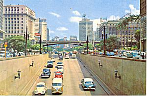 Sao Paulo Brazil Postcard cs1318 (Image1)