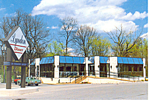 Lyndon Diner, Manheim, PA Postcard (Image1)