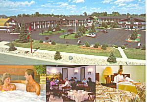 Bavarian Haus Motel Frankenmuth MI Postcard cs1323 (Image1)