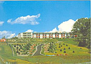 Pocmont Resort Bushkill Pa Postcard Cs1324 Image1