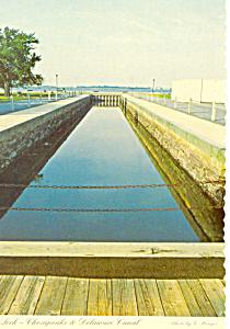 Chesapeke Delaware Canal Lock, DE Postcard (Image1)