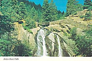 Cheyenne Mountain District Colorado Helen Hunt Falls Postacrd CS13903 (Image1)