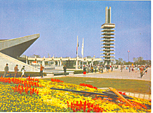 Olympic Park, Tokyo Olympics 1964 Postcard (Image1)