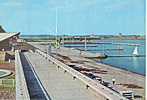 Yacht Harbor, Tokyo Olympics 1964 Postcard (Image1)
