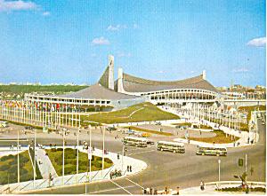 National Gymnasium, Tokyo Olympics 1964 Postcard (Image1)