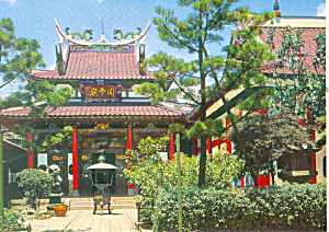 Chinese Temple, Kobe, Japan Postcard (Image1)
