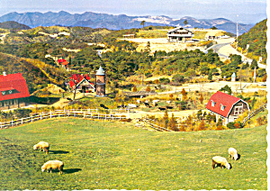 Mt Rokko Meadow Japan Postcard cs1424 (Image1)